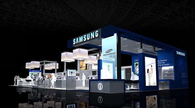 Samsung Exhibition Booth Design : Samsung medison booth renewal dconcierz
